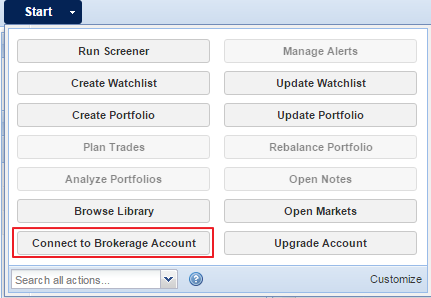 connect to brokerage