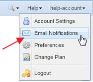changing email preferences