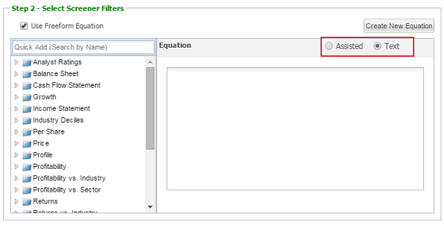 equation editor mode